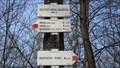 Image for Direction and Distance Arrows - Golfovy areal Barbora, Jenikov, Czech Republic