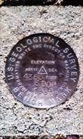 Image for USGS '3 DOR' BM - Lake County, OR