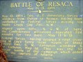 Image for BATTLE OF RESACA  MAY 14-15, 1864 - GHM 0064-10 - GORDON CO., GA
