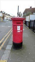 Image for Victorian Post Box - Borthwick Road, London, UK