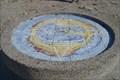 Image for Compass rose, Pointe de Pen Hir, Finistére, F