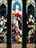 Image for Feeding of the Five Thousand - St Nicholas' Church - Grosmont, Wales.