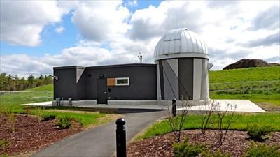 The observatory, adjacent