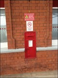 Image for Wall Mounted Box, Platform 2, Rugby Rail Station, Rugby, Warwickshire, UK