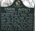 Image for Union Agency - Muskogee, Oklahoma