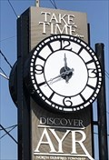 Image for Ayr Town Clock - Ayr, ON