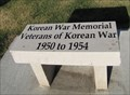 Image for Lincoln County Korean War Memorial Bench - Troy, Missouri