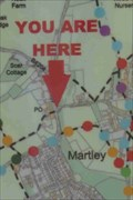 Image for Map of Walks, Martley, Worcestershire, England