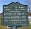 Image for Moses, Allen Chapel, Calvary Cemeteries
