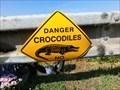 Image for Danger crocodiles - Nove Mlyny, Czech Republic