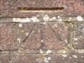 Image for Cut Bench Mark on School Hill Bridge, Burwash, Sussex.