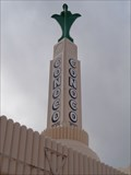 Image for Conoco Tower - Route 66 Neon - Shamrock, Texas, USA.