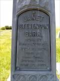 Image for Janet Stevenson Barr - Augusta, Montana