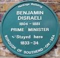 Image for Benjamin Disraeli - Tyrrel Drive, Southend-on-Sea, UK