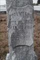 Image for Zora Wilson WOW Grave Stone