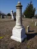Image for EARLIEST Marked Grave in Prairie Point Cemetery - Bazette, TX