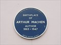 Image for Arthur Machen - Caerleon, Wales, UK