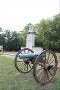 Image for Bronze Model 1841 6-pounder towed field gun -- Tupelo National Battlefield, Tupelo MS