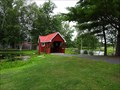 Image for The Little Red Covered Bridge - Alexandria Bay, NY