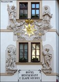 Image for Baroque Reliefs at House At the Golden  Well / Dum U zlaté studny (Prague)