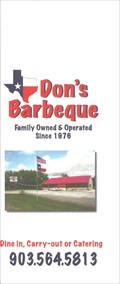 Image for Don's Barbecue - Dixie, TX