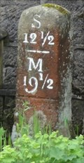 Image for Rochdale Canal Original Mile 12 ½  Milepost – Warland, UK