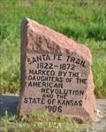 Image for Santa Fe Trail at Kinsley, Kansas