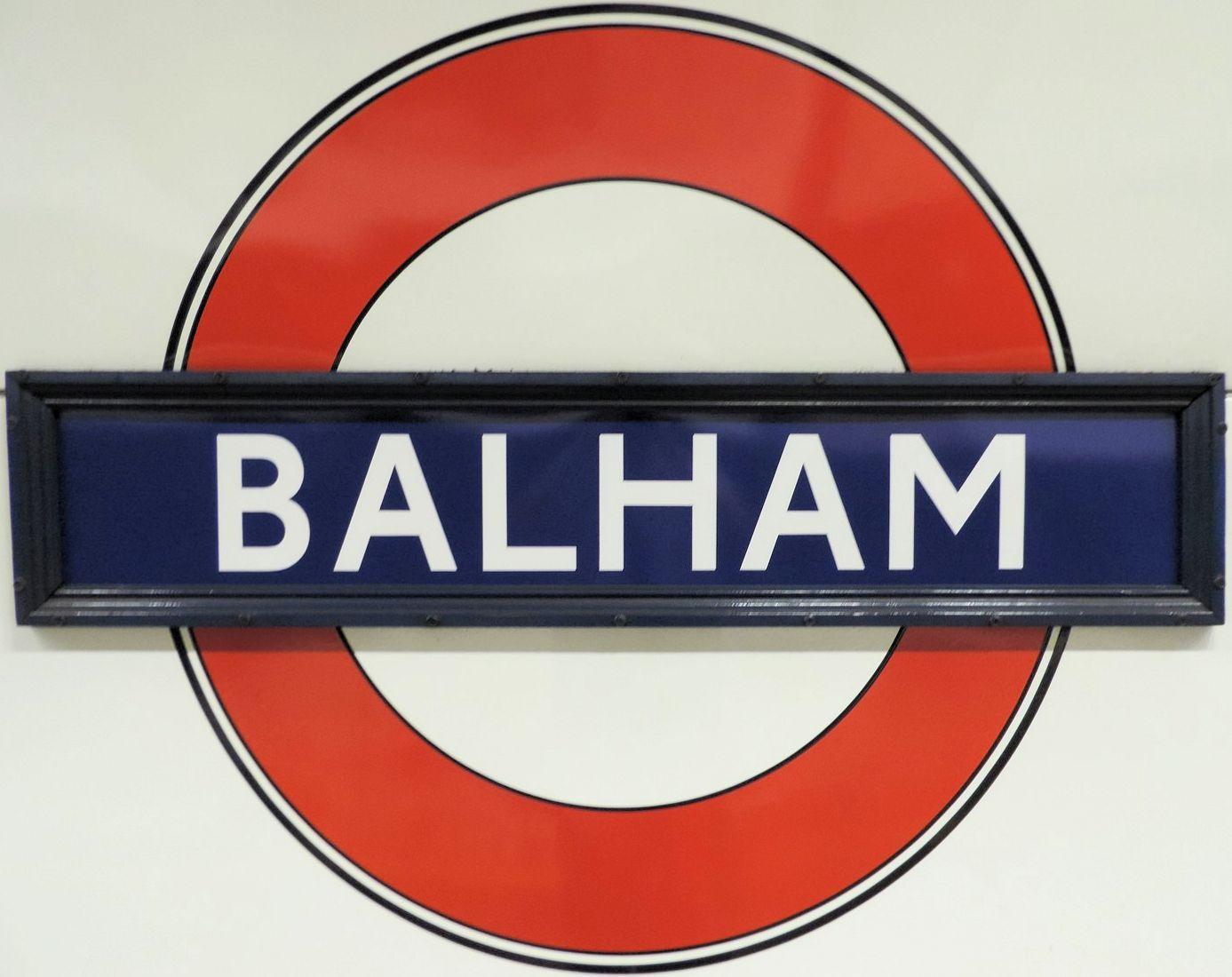 Balham Underground Station Balham High Road London Uk The