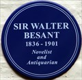 Image for Sir Walter Besant - Frognal, Hampstead, London, UK