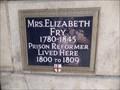 Image for Elizabeth Fry - Poultry, London, UK