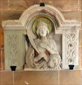 Image for Relief of Daria at  St. Chrysanthus und Daria Church - Kirchplatz, Bad Münstereifel - NRW / Germany