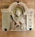 Image for Relief of Daria at  St. Chrysanthus und Daria Church - Kirchplatz, Bad Münstereifel - NRW / Germany
