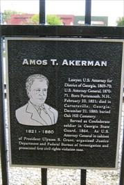 Amos T. Akerman