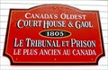 Image for OLDEST - Courthouse and Gaol in Canada - Tusket, NS