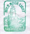 Image for Mile Rock Lighthouse Stamp - San Francisco, CA