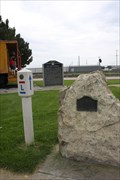 Image for 100th Meridian DAR Marker -- Cozad NE