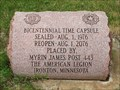 Image for Bicentennial Time Capsule - Ironton, Minn.