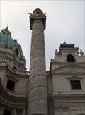 Image for Karlskirche Columns  -  Vienna, Austria