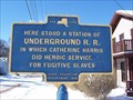 Image for Here Stood a Station of the Underground R.R. - Jamestown, New York