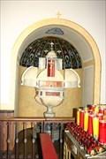 Image for Baptismal Font -- Shrine of St. Joseph, St. Louis MO