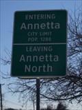Image for Annetta, TX - Population 1288