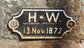 Image for Highwater level marker at Leuchtturm Travemünde - Travemünde/ Schleswig-Holstein/ Deutschland