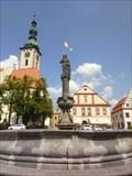 Image for Renesancní kašna na Žižkove námestí - Tábor, Czech Republic