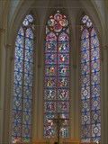Image for Stained Glass Windows at Catholic parish church St. Servatius (Siegburg) - NRW / Germany
