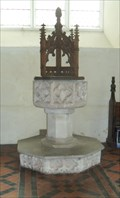 Image for Font - St Mary the Virgin, Grunisburgh Road, Clopton, Suffolk. IP13 6QB