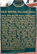 Image for Old Wayne Village Hall