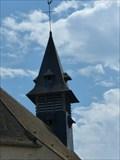 Image for Clocher de l'Eglise St Saturnin, La Forêt Ste Croix, Essonne, France