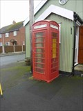Image for Red Telephone Box, Mamble, Worcestershire, England