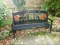Image for Royal British Legion Garden of Remembrance Bench - Bakewell, Derbyshire, UK.