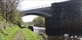 Image for Cast Iron Railway Bridge Over The Calder And Hebble Navigation - Dewsbury, UK